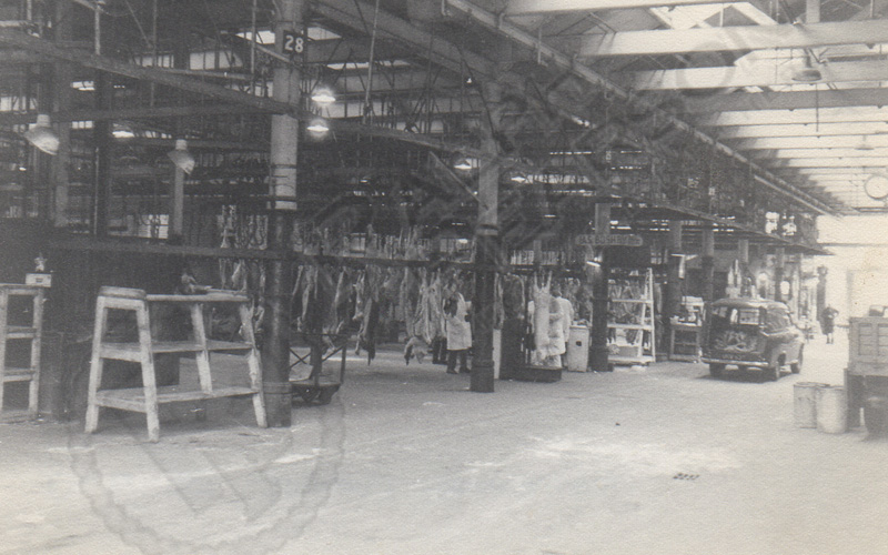 St James' abattoir was a hive of activity